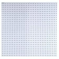 Pegboard Shop Locboard 2 Piece Steel Pegboard Actual 36 In X 18 In At