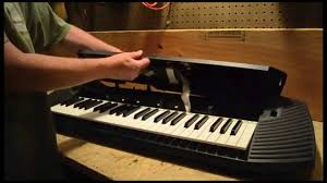 how to fix a dead key on an electronic keyboard youtube