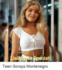 Soraya Montenegro Meme - jailbait in spanish funny meme on me me