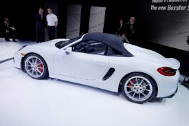 porsche spyder 2017 porsche u0027s awesome looking boxster spyder will earn your respect