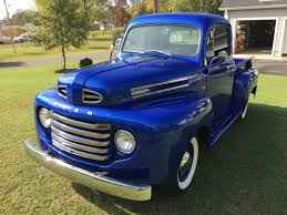 ford truck blue charming 1948 f 1 stands the test of time ford trucks com