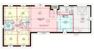 plan maison plain pied en l 4 chambres maisons plain pied 4 chambres de 107 m construite par demeures