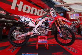 honda racing motocross trey canard first look 2015 bikes of supercross motocross