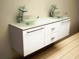 bathroom art deco black painted wooden bathroom vanity with