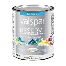 valspar reserve interior latex base paint and primer in one