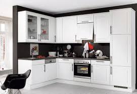Red Black White Kitchen - white kitchen red accessories interior design