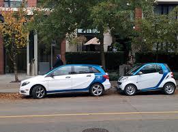 mercedes downtown file car2go 4 door mercedes b class and a 2 door smart fortwo