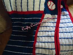 themed blankets baseball themed crochet blanket ccbr past creations