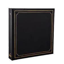 large photo album arpan 6x4 deluxe padded large photo album for 500 photo s black