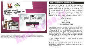 Peinture V33 Meuble Cuisine by Bon Plan V33 Carte Cadeau De 10 U20ac Offerte