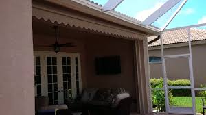 Retractable Awnings Tampa Retractable Awning Lanai Youtube