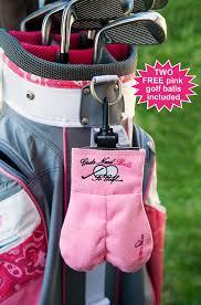 amazon com mysack u0027s golf ball storage sack pink golf bag