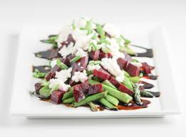 asparagus beets and goat cheese salad diverse dinners