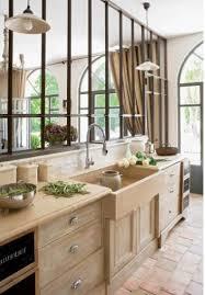 cuisine nature la cuisine de mes rêves lier l effet métal avec le bois nature et