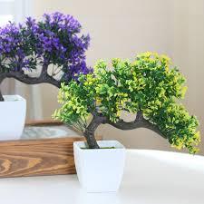 2018 hyson shop faux tree potted landscape artificial bonsai pot
