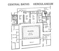 Roman Floor Plan by Leisure Activities In Pompeii And Herculaneum All Empires