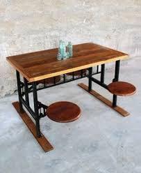 Chaise Industrielle En M C3 A9tal Par Henri Graduate Vibrant Furniture Unit For Modern Institutes