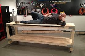 Building Woodworking Bench How To Build A Heavy Duty Workbench One Project Closer