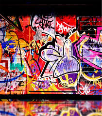 computer graffiti colour hip hop graffiti backdrop vinyl cloth high quality