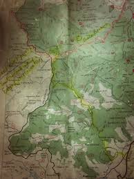 Shining Rock Wilderness Map Hiking Far And Nigh