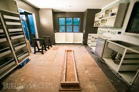installing kitchen island kitchen diy concrete countertops installation inside island