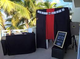 photo booth setup photo booth event rentals key west fl weddingwire