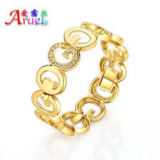 Aliexpress India by Aliexpress Com Buy Gold Color Letter Bangles Crystal Rhinestone