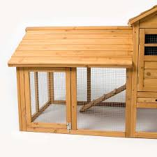 Sale Rabbit Hutches Deluxe Apex Rabbit Hutch With Run By Petplanet On Sale Free Uk