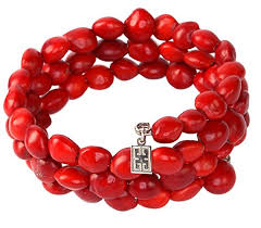 red beads bracelet images Peruvian bracelet for women huayruro red seed beads jpg