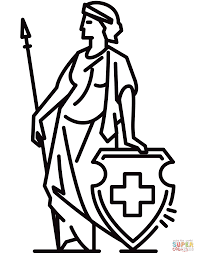 swiss helvetia coloring page free printable coloring pages