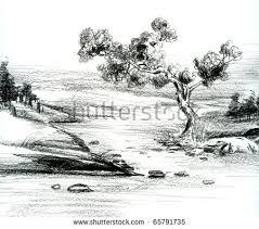 hand sketch natural scenery stock illustration 65791735 shutterstock