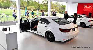 2015 lexus isf white car revs daily com 2015 lexus ls460 f sport crafted line is most