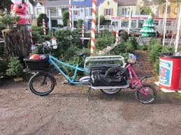 christmas tree by bicycle 2014 hum of the city
