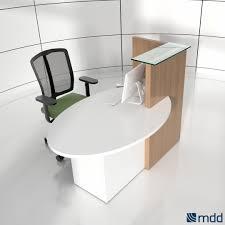 low reception desk furniture office salon