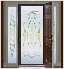 Sidelight Windows Photos Ritz Etched Glass Window Film 16 X 74 Inches Wallpaper For Windows