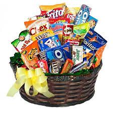 gift baskets food woodrings floral gardens