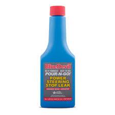 amazon com bluedevil power steering stop leak 8 ounce 00232