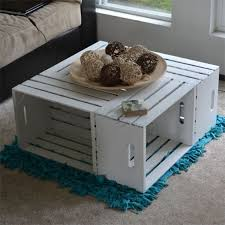 How To Make Wine Crate Coffee Table - the 25 best wooden crate coffee table ideas on pinterest diy