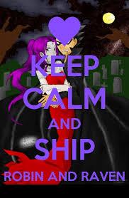 Teen Titans Memes - teen titans keep calm and ship meme 1 by teentitans232 on deviantart