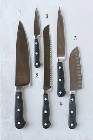types of knives kitchen a guide to knives and cutting