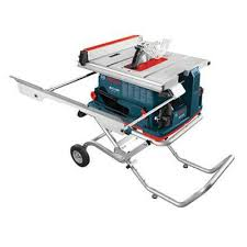 bosch gravity rise table saw stand reaxx 10 table saw with gravity rise wheeled stand bosch tools