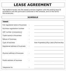 basic commercial lease agreement template free uk best resumes