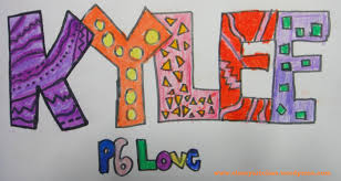 pattern art name name design and graffiti art teacher lem s art class