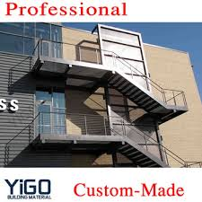 outdoor staircase design china exterior stair design outdoor metal staircase outdoor