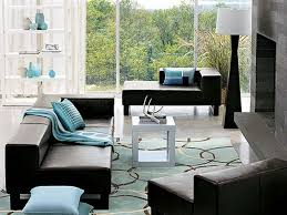 brown and turquoise decor for living rooms fresh round white