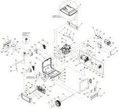 generac 0059300 xp6500e parts diagrams