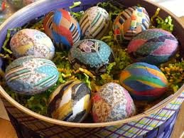 Decorating Easter Eggs With Fabric by 148 Best Easter Eggs Images On Pinterest Easter Ideas Easter