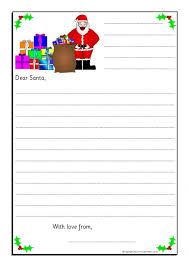 free printable writing paper to santa eyfs ks1 christmas literacy teaching resources and printables