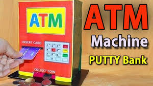 how to make atm machine at home diy craft for kids youtube