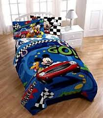 Mickey And Minnie Comforter Mickey Mouse Bedding Ebay